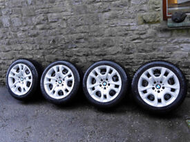 BMW X1 (2009-15) winter tyres and wheels