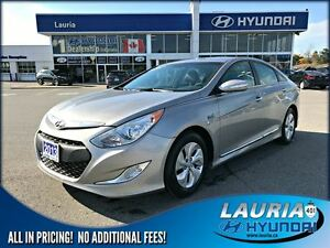 2013 Hyundai Sonata Hybrid Auto - 1 owner - LOW KMS - Bluetooth