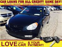 2008 Hyundai Accent * POWER ROOF * CAR LOANS THAT SUIT YOUR BUDG