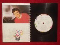 Chris De Burgh Into The Light A5 Handmade Vinyl Notebook