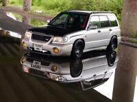 Subaru Forester Turbo ...... good spec.