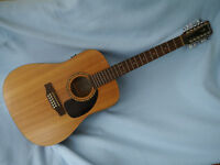Simon and Patrick Woodland Spruce 12 string Electro-Acoustic Guitar A3T. Solid Spruce top.