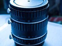 Phottix 3 Ring Auto-Focus AF Macro Extension canon ef