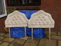 headboards 3 foot x2 padded good condition