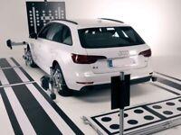 VW AUDI SEAT SKODA BENTLEY MAN COMPONENT PROTECTION ADAS ACC RADAR & CAMERA CALIBRATION SERVICE