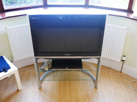 PANASONIC TX-36PD50 QuintrixSR-2 Acuity TV (With Sony Freeview Box & Component Video Leads)