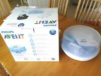 Philips AVENT Microwave Steriliser with 3 Bottles, Bag and Brush which was £69, is sale for £19