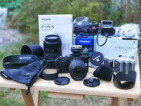 olympus pen lite e-pl 5 16mp digital micro 4/3 camera