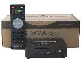 Zgemma i55 Enigma2 IPTV Box, 12 Month gift in cluded Dual Core Processor , Linux OS