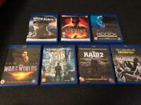 7 Action Films on Blu-Ray