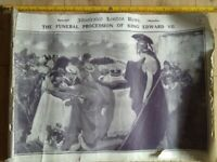ILLUSTRATED LONDON NEWS SPECIAL EDITION THE FUNERAL PROCESSION OF KING EDWARD VII. 1912