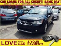 2012 Dodge Journey R/T * LEATHER * POWER ROOF * AWD * 7PASS