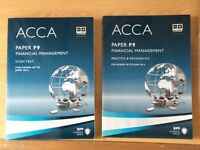ACCA paper F9 study, practice & revision kit