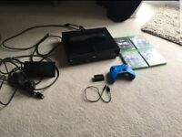 Xbox one 500 gb kinect and games exellent condition