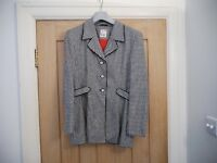 Selection of women's designer evening wear, jackets, suits, trousers, full outfits. Mint condition