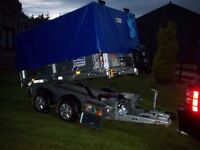 """ IFOR WILLIAMS"" 8X5 TIPPING TRAILER. ( NEW.) Unused . ""Many Extras""..."