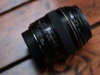 CANON F1.8 85mm EF