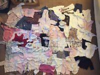 0-3 months clothes bundle - girl