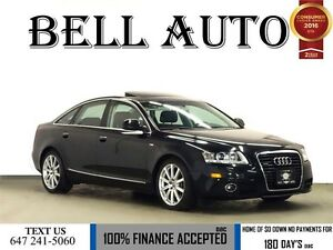 2011 Audi A6 3.0 S-LINE NAVIGATION/ PUSH START/SUNROOF/ LEATHER