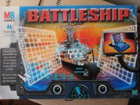Traditional Battleship board game. Like new.