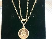 9ct 375 gold chain 🔗 pendant