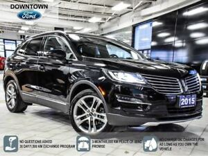2015 Lincoln MKC Reserve, Tech Pack, Self Park, Adaptive Cruise
