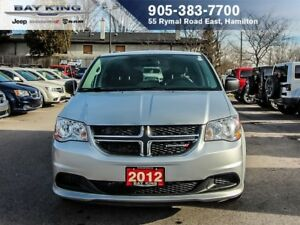 "2012 Dodge Grand Caravan SXT ""STOW N GO"", TINTED, POWER LOCK/WIN"
