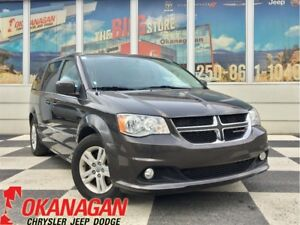 2016 Dodge Grand Caravan CREW | DVD | Stow N Go | Back Up Camera