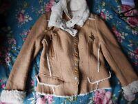 Soft fur jacket, Size S