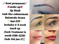 Semi permanent make up in Kingswood, Bristol
