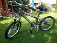 "Child's mountain bike NEARLY NEW 18"" wheels with 5 gears"