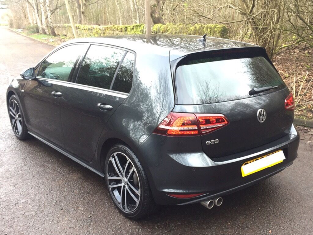 stunning volkswagen golf gtd 2015 mot feb 2018 dsg auto not gti golf r seat leon fr in. Black Bedroom Furniture Sets. Home Design Ideas