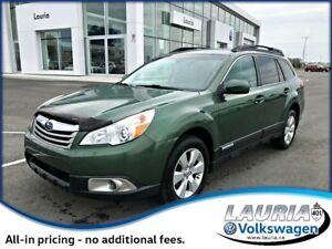 2011 Subaru Outback 2.5I AWD - Low kms - 1 owner