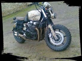 Honda cb750cc cafe racer, scramble, rat look, motorbike no swap / px