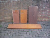 Large solid wood boards