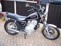 SUZUKI GN 250 CLASSIC MOTORBIKE 27 YEARS OLD IN VERY GOOD CONDITION