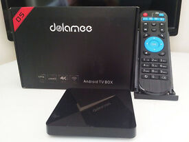 SMALL BUT POWERFUL ANDROID TV BOX THE DOLAMEE D5
