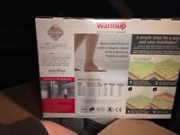 Warmup DWS600 electric underfloor heating 2 boxes