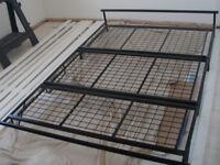 Double bed futon base: suitable for mattress/futon/memory foam