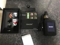 SMOK G-PRIV WHIT ALL ACCESSORIES AND SPIRAL TANK
