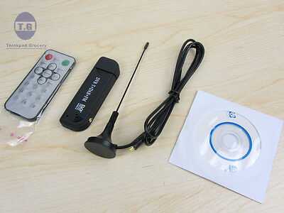USB 2.0 Digital DVB-T DAB FM RTL2832U FC0013B SDR TV Radio Receiver Stick