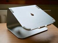 Genuine Rain Design mStand MacBook Laptop Stand - Silver