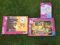 100 piece Disney Princess puzzles