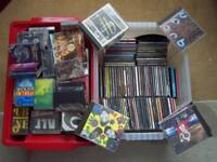 Huge Collection of Old Tapes and CD's