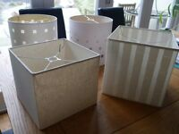 4 stylish and neutral lampshades