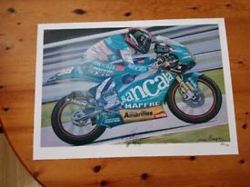 Bradley Smith signed poster