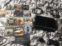 PS3 + 14 games and controller bundle