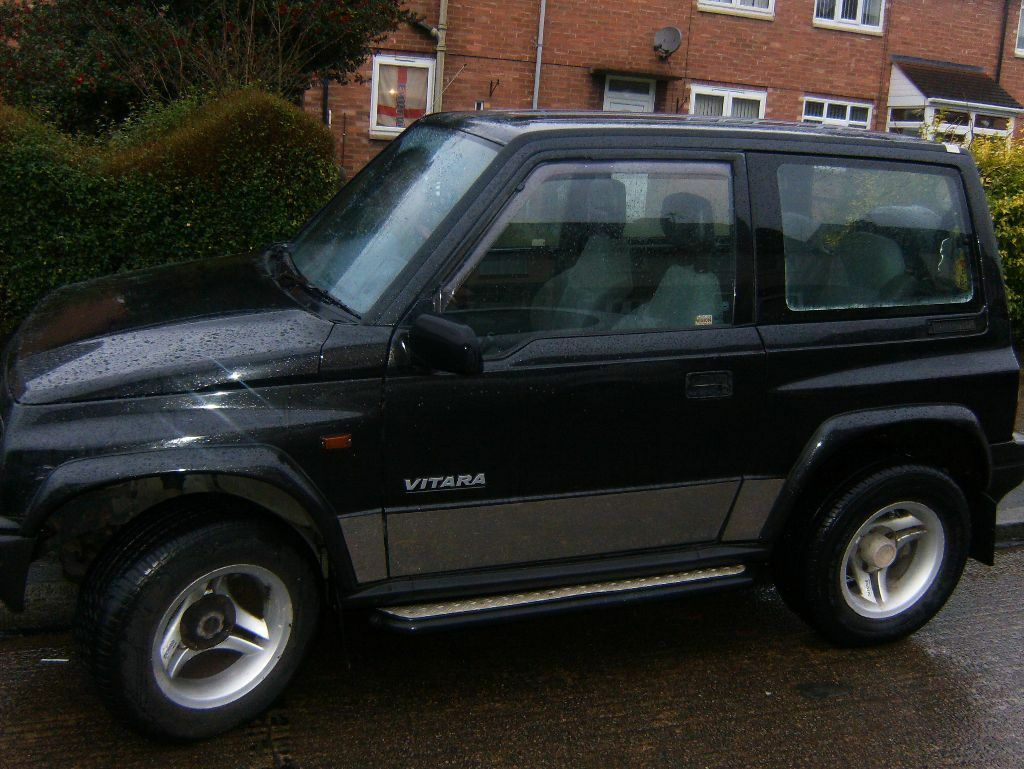 suzuki vitara fatboy 4x4 16valves vitara fatboy 4x4 manual in leicester leicestershire. Black Bedroom Furniture Sets. Home Design Ideas