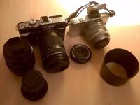 Olympus E-PL1 and E-PM1 camera bundle (micro four thirds) Still available 18/10