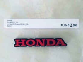 Genuine Honda music usb stick 8GB at only £15, brandnew boxed